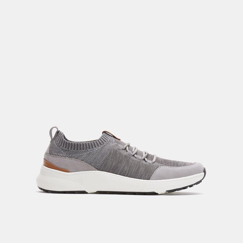 Sneakers da uomo in maglia