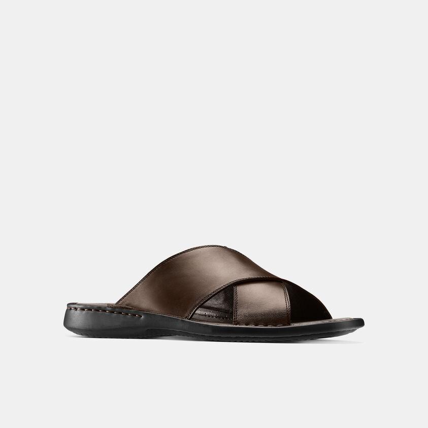 slippers in pelle da uomo