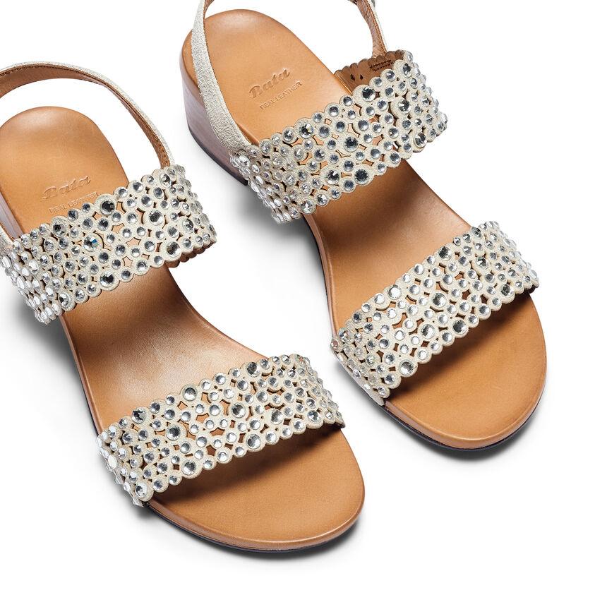 c21dc8703c3049 Sandali con strass Grigio | Bata