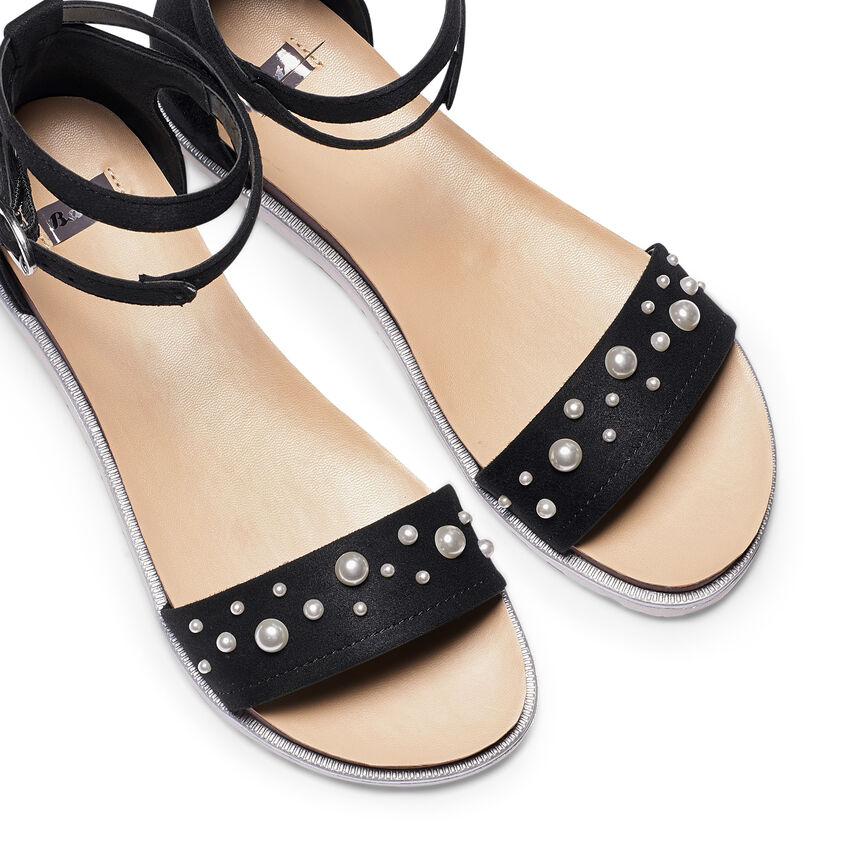 scarpe sportive scarpe da corsa nessuna tassa di vendita Sandali con perle