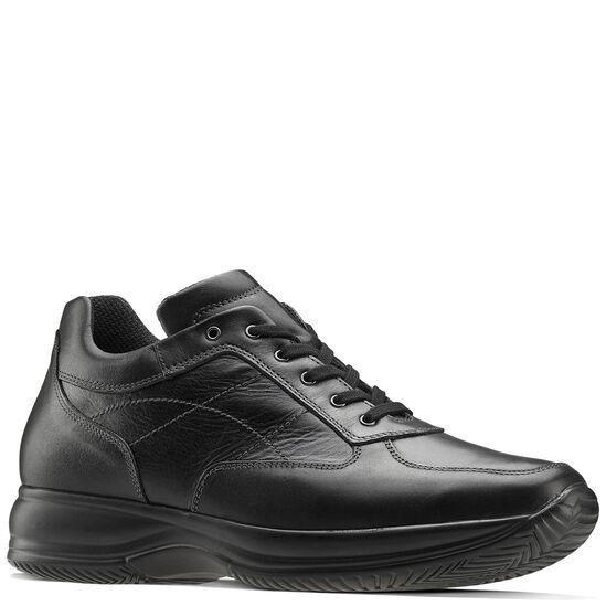 7b3833fb6208c7 Sneakers in pelle, Nero