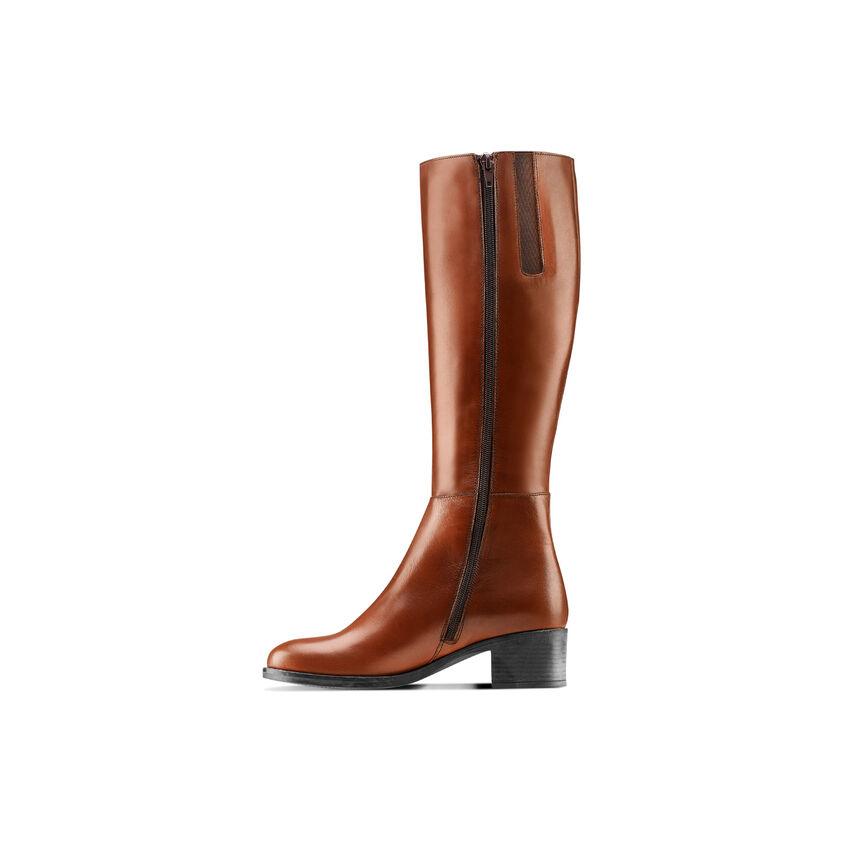 qualità superiore 85c69 e9801 Stivali alti da donna in pelle
