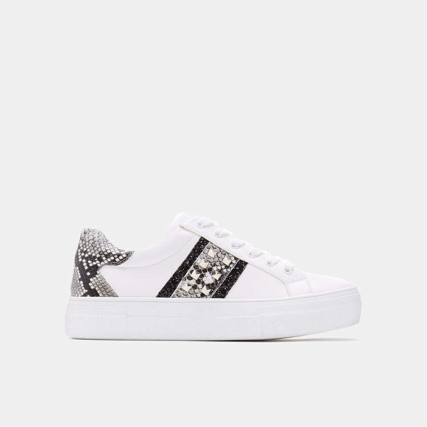 Sneakers con stampa animalier