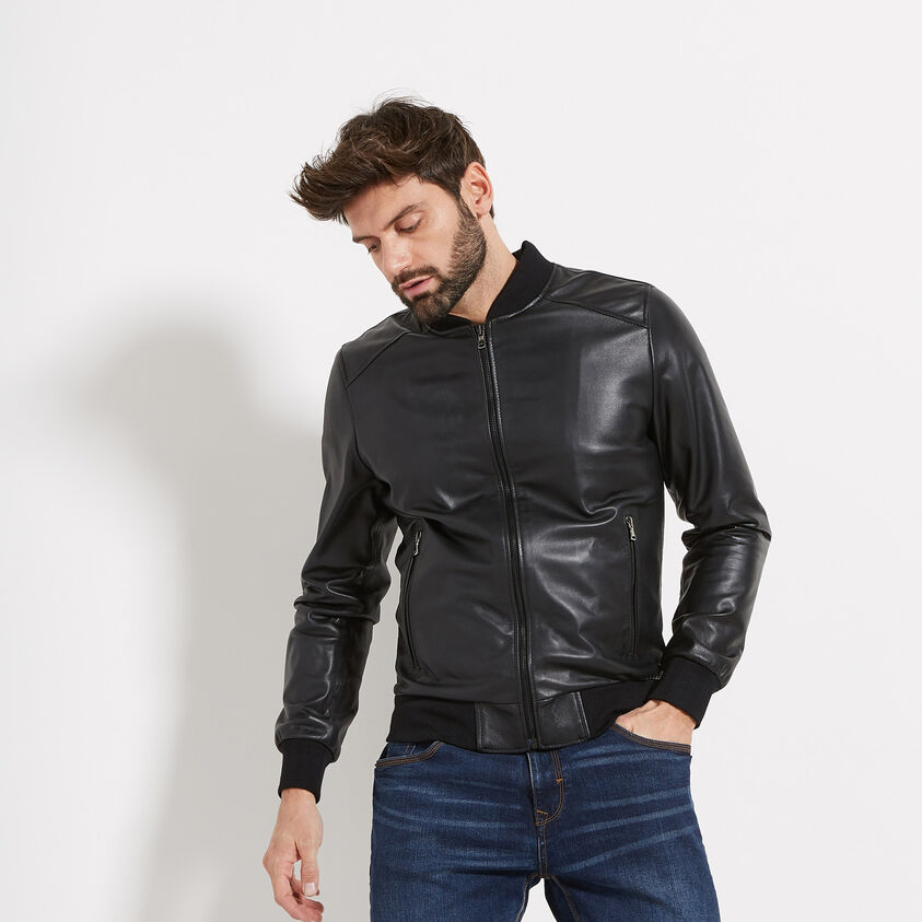 Giacca in pelle