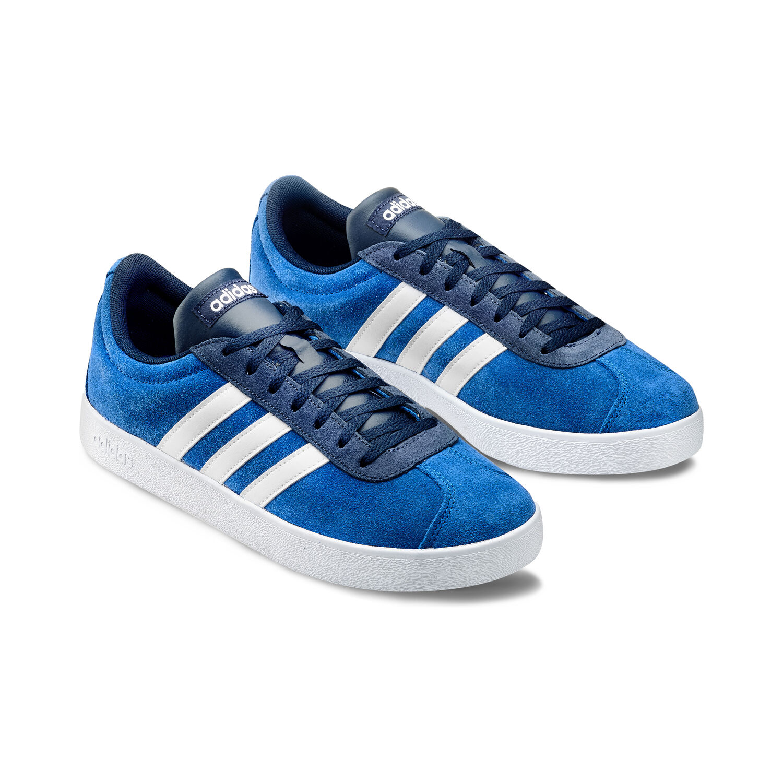 adidas court uomo blu