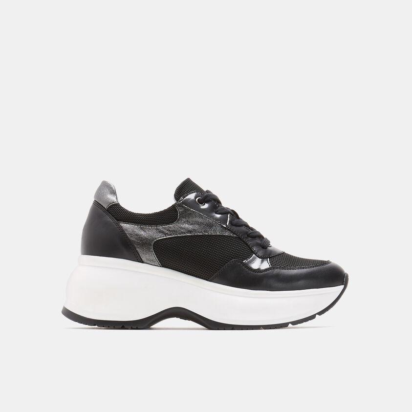 Sneakers con suola platform