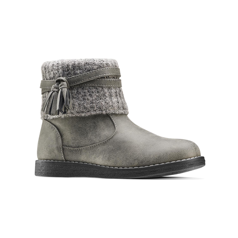 separation shoes ffb0b 67eac Stivaletti bimba con dettaglio in lana